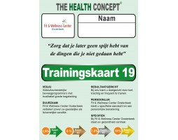 Trainingskaarten The Health Concept
